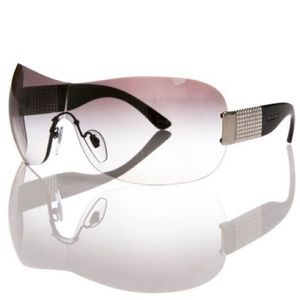Bvlgari Sunglasses Swarovski Crystals w/ Case